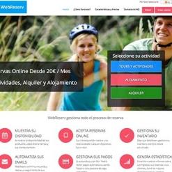 Diseño y desarrollo web de reservas